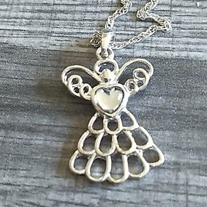 Avon angel necklace